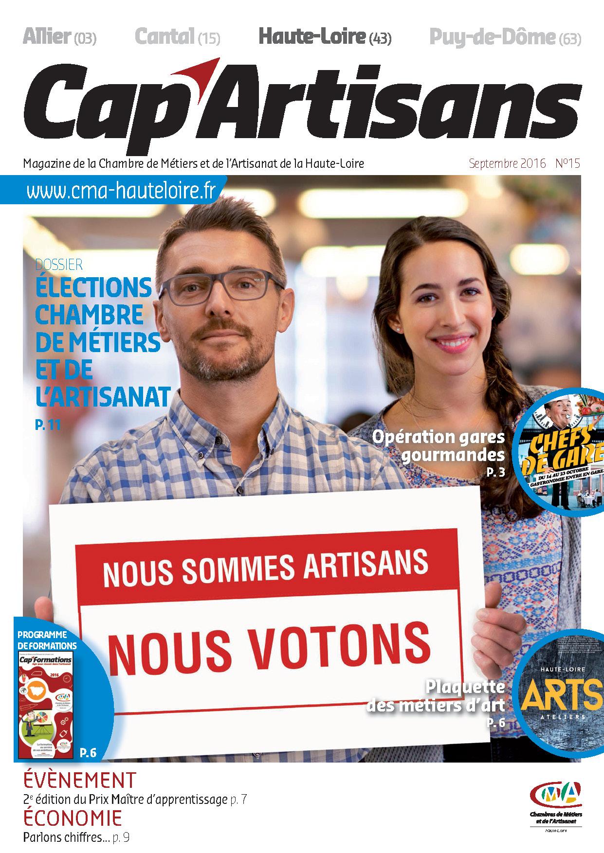 Magazine CAP ARTISANS