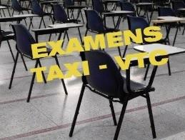 Visuel examen taxis bis